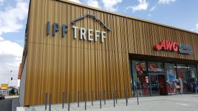 Einkaufszentrum IPF-Treff Bopfingen (DE)