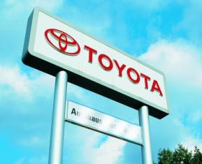 Toyota-Autohaus in Hamburg bzw. deutschlandweit (DE)