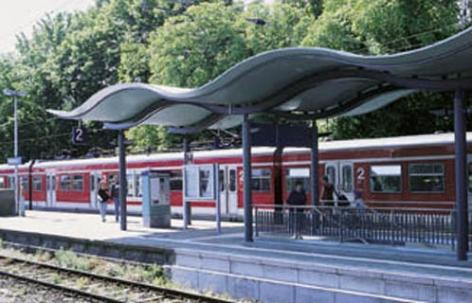 Bahnsteigdach Hofheim am Taunus (DE)