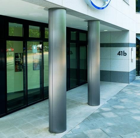 Vereins- und Westbank, Eingangsbereich der Filiale Mittelweg Hamburg (DE)