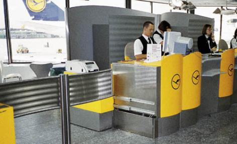 Flughafen Terminal 1 Frankfurt/Main (DE)